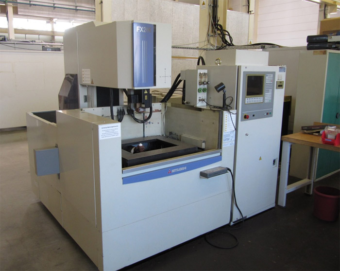 mitsubishi wire edm machine