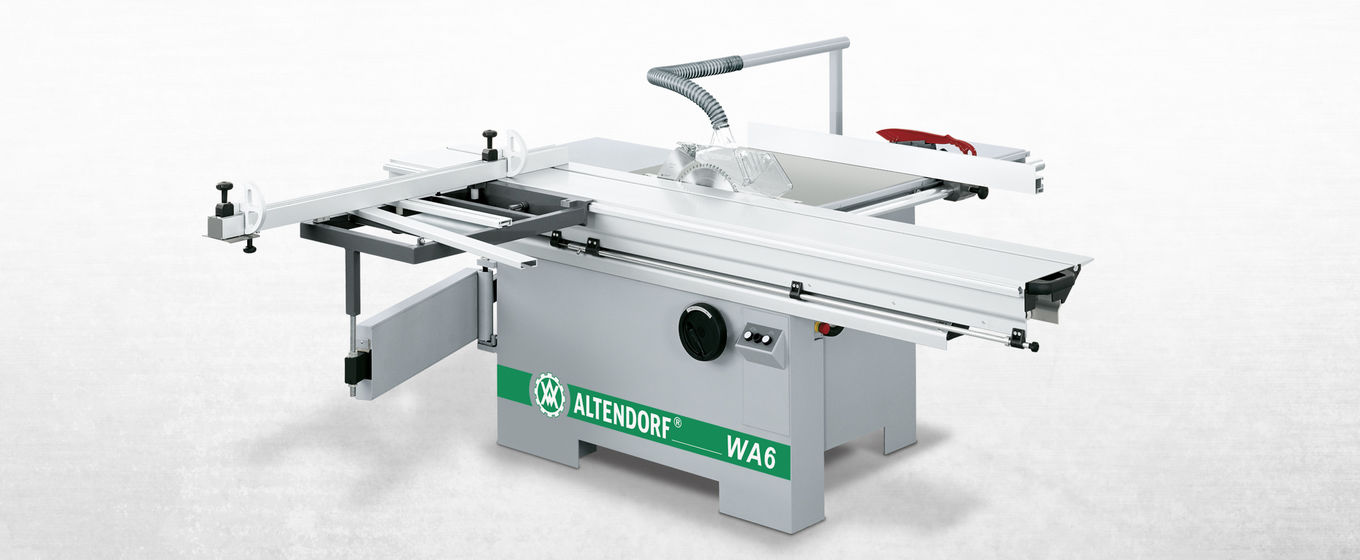 Used altendorf sliding table saw f45 f90 wa 80 more smooth guidance of semi finished products the raw material is led towards the saw using the same tried and tested sliding table to be found on larger models greentooth Image collections