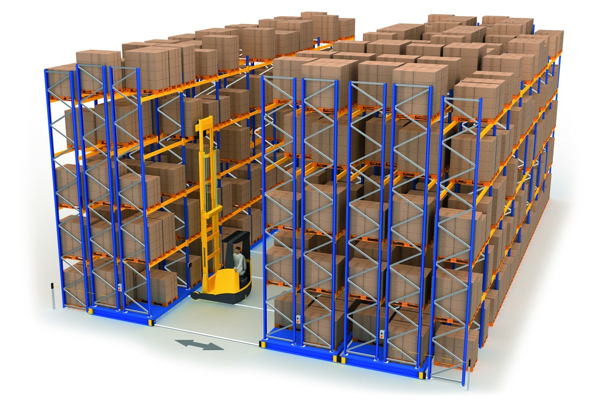 JUNGHEINRICH Mobile racking system
