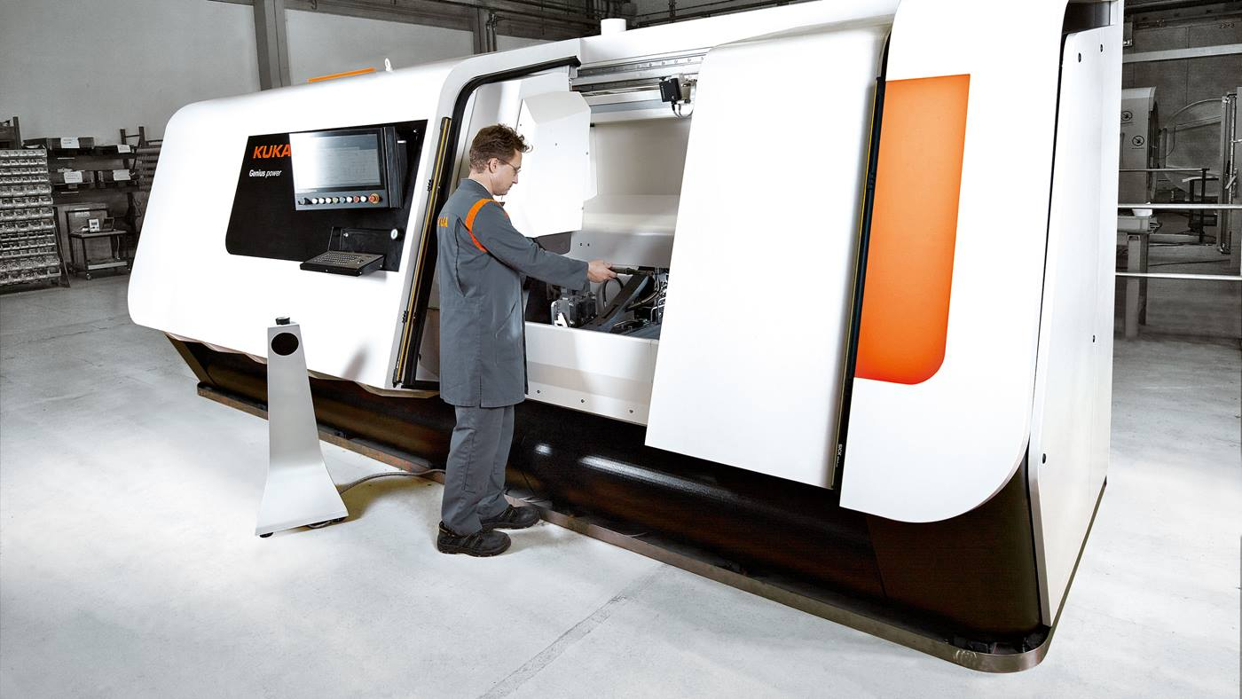 KUKA Genius Rotational Friction Welding Machine