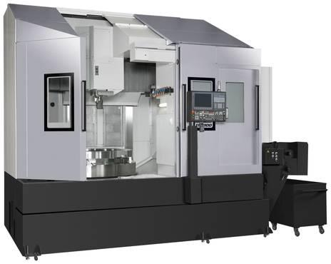 OKUMA VTM 200 Vertical lathe