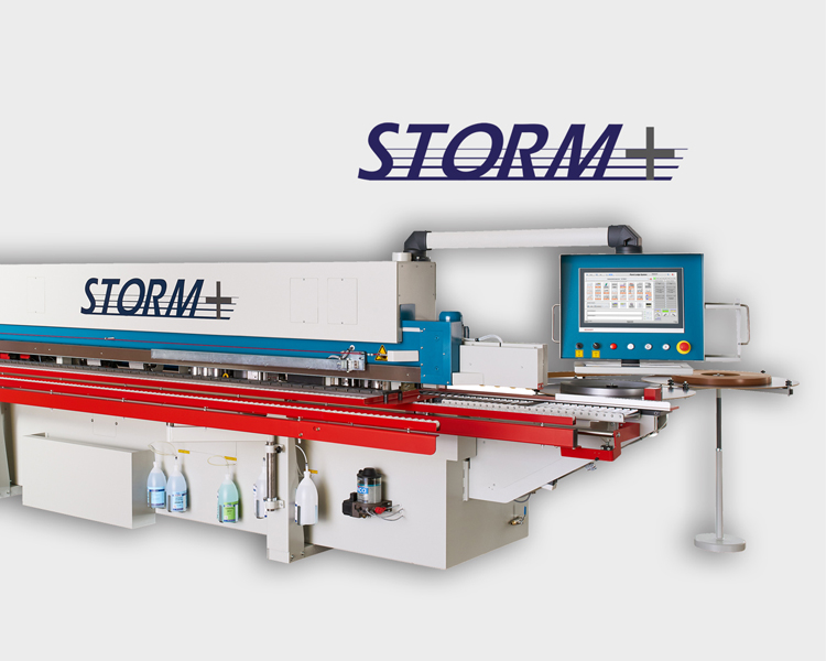 OTT STORM+ Edge Banding Machine