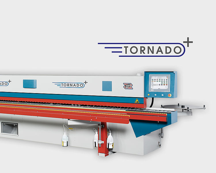 OTT TORNADO+ Edge Banding Machine