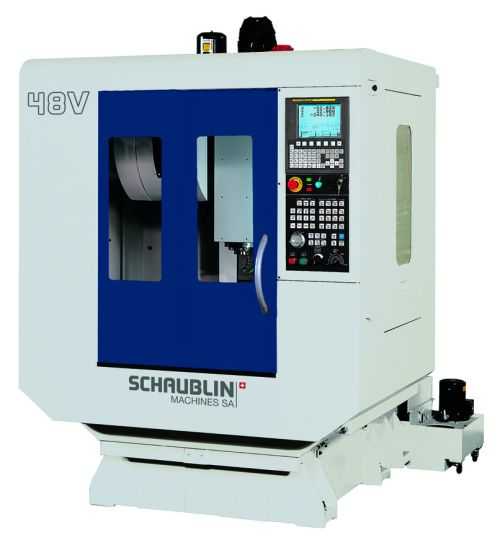 SCHAUBLIN Vertical CNC Machining Centre