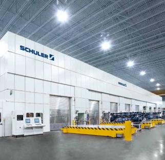 SCHULER Hydraulic Press Line
