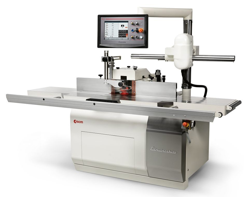 SCM TI 7 L'invincibile spindle moulder
