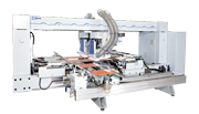 WEEKE BHT 500 Throughfeed drliing machine