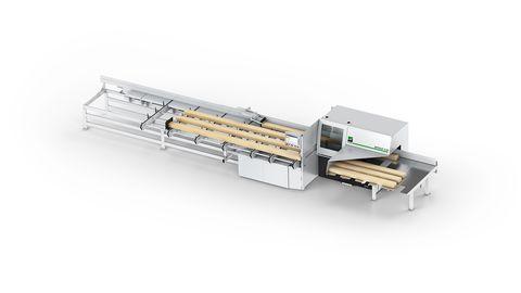 WEINIG OptiCut S 60 Optimising cross-cut saw