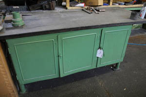 banco da lavoro usato - con cassettiere, mensole e altro - Banchi Da Lavoro Per Officina Usati