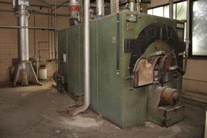 Impianto di riscaldamento industriale usato per capannoni for Impianto pellet usato