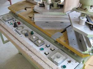 Macchine per la produzione di finestre usate surplex for Finestre pvc usate