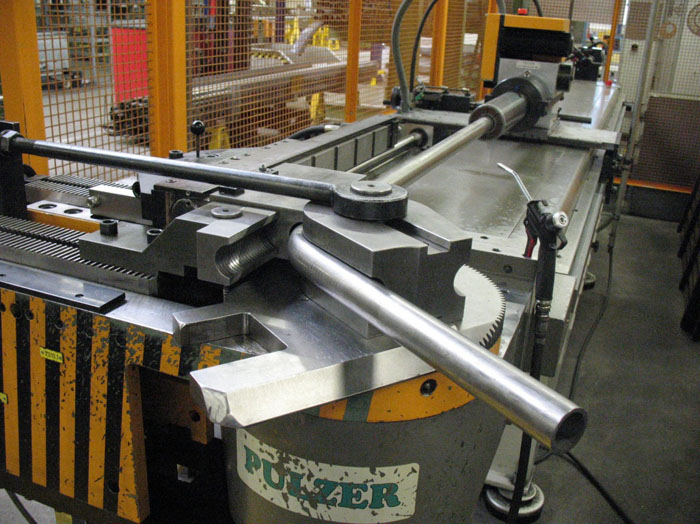 Piegatubi usata manuale e idraulica per tubi in rame e for Pressa per tubi idraulici usata