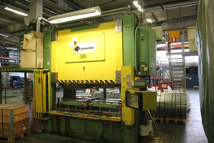 Presse per metalli usate servopresse transfer e altro for Presse idrauliche usate per officina