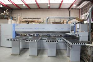 Scie panneaux horizontale d 39 occasion surplex - Table elevatrice occasion ...
