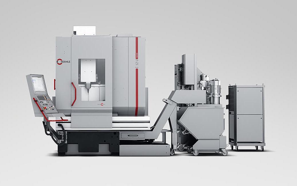 Centro de mecanizado HERMLE C 12