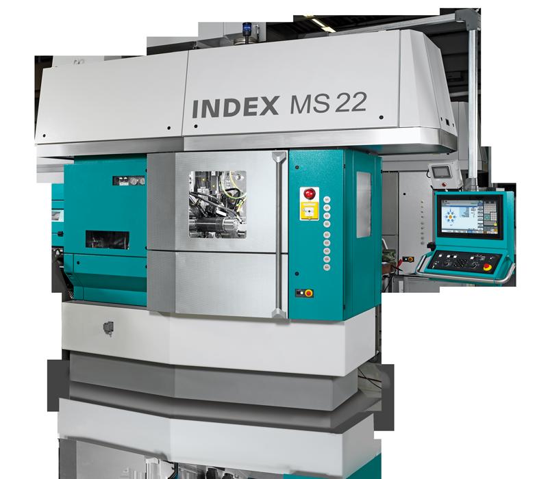 Torno automático multihusillo INDEX MS22C