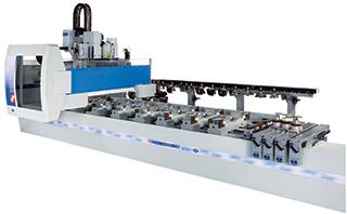 Centro de mecanizado CNC MASTERWOOD 4WIN