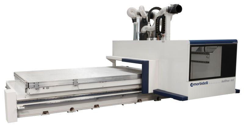 Centro de mecanizado CNC MORBIDELLI Author M600/800 F