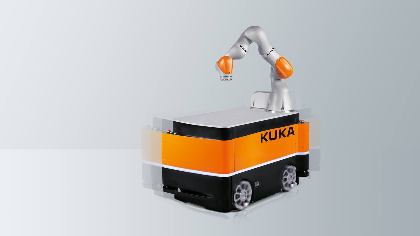 Robot di mobilità KUKA KMR iiwa