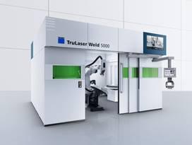 Macchina per saldatura laser TRUMPF TruLaser Weld 5000