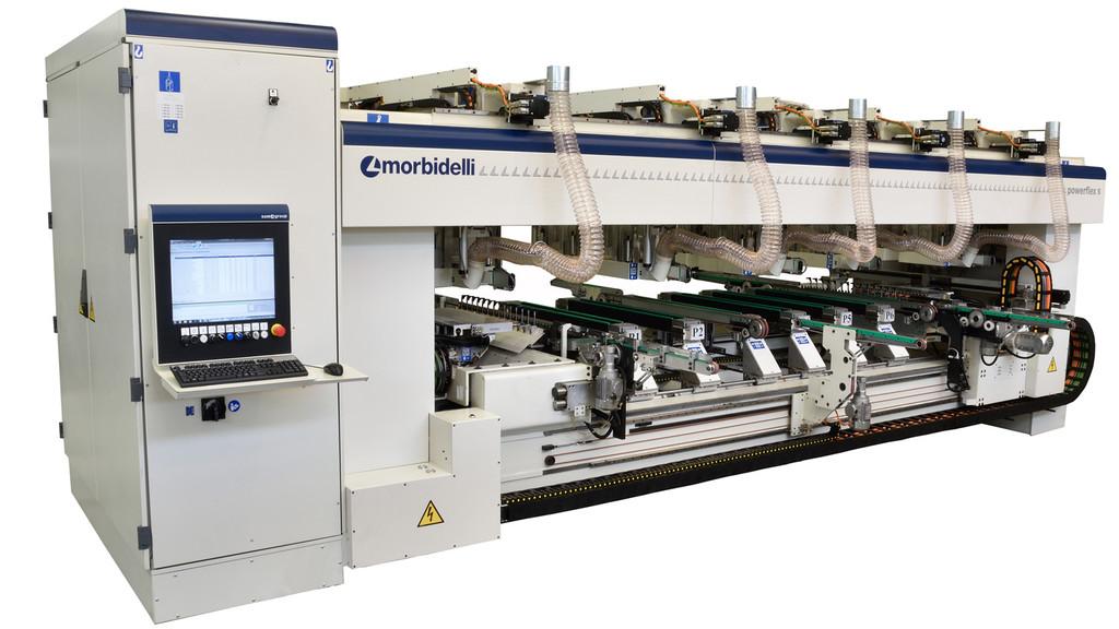 MORBIDELLI Powerflex S Otomatik delik büyütme makinesi