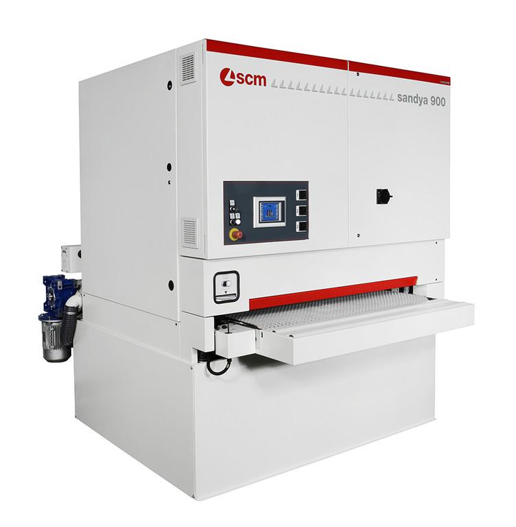 SCM Sandya 900 Geniş bantlı zımpara makinesi
