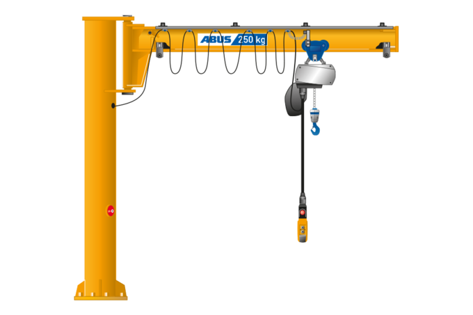 ABUS LSX Säulenschwenkkran