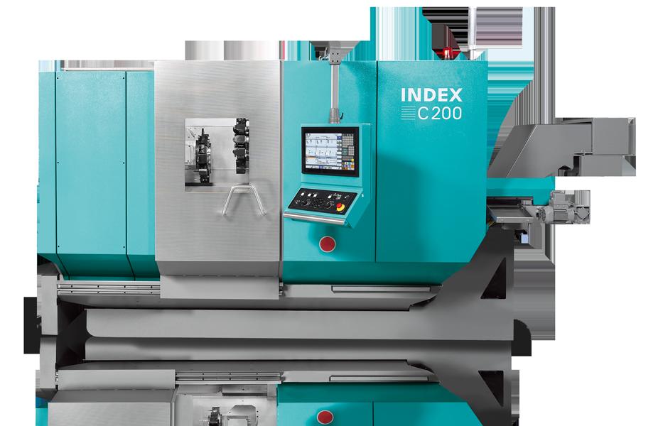 INDEX C200 Produktionsdrehautomat