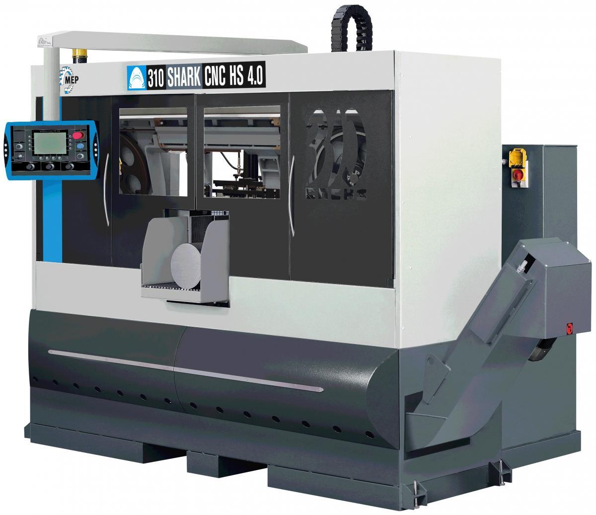 MEP SHARK 310 CNC HS 4.0 Doppelsäulenmaschine