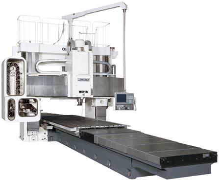 OKUMA MCV-AII Portalfräsmaschine