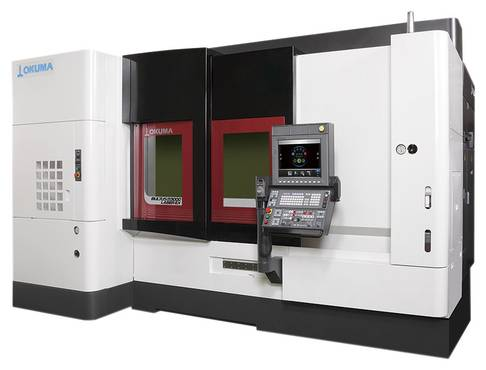 OKUMA MULTUS U3000 Laser EX Dreh-Fräs-Zentrum