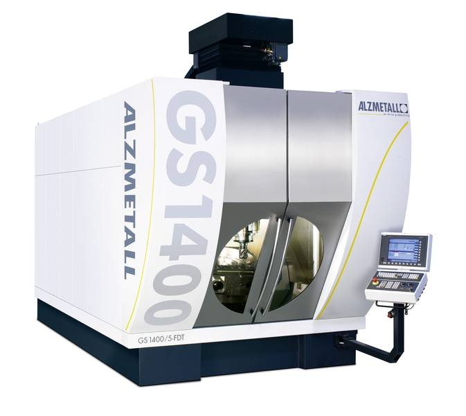 ALZMETALL GS 1400 / 5-FDT Centre d'usinage