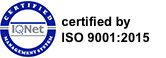 ISO Certificate  9001:2015  Qualitätsmanagement